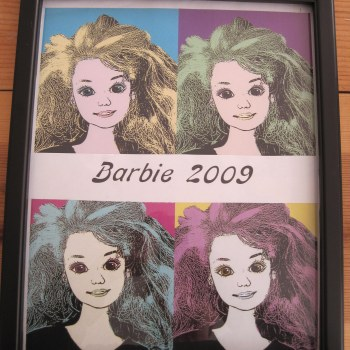 Barbie as Warhol would have wanted her to be.