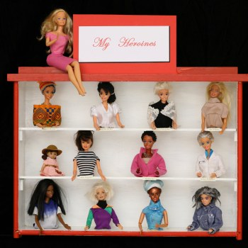 Altered Barbie by Marc Ellen Hamel