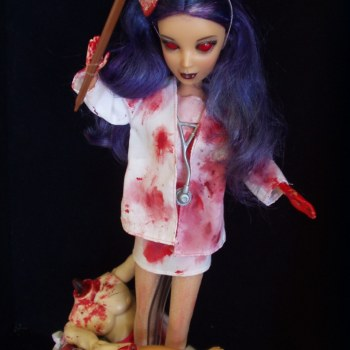 Nurse Hatchet Barbie