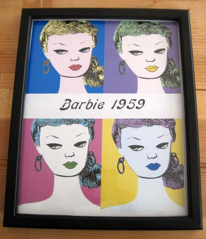 Barbie as Warhol wanted her to be.