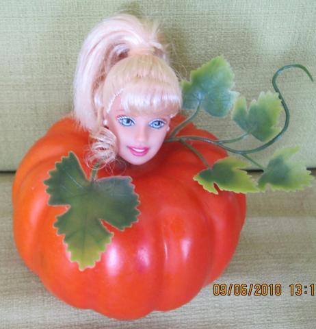 Barbie vegetables