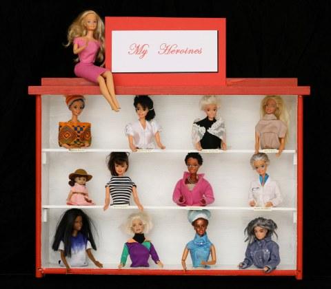 Altered Barbie by Marc Ellen Hamel