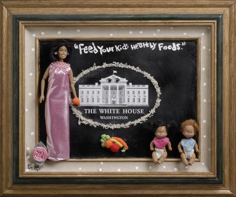 """Michelle Obama's, """"Feed your kids healthy foods"""""""