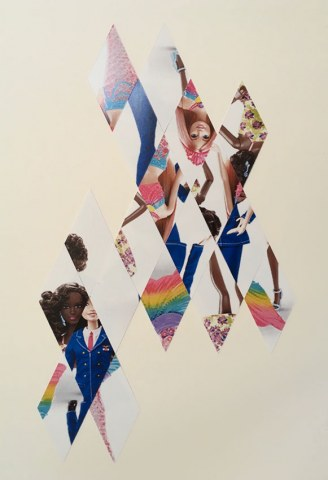 Vanessa Niederstrasser diamond shaped photo collage